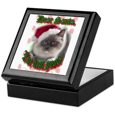 Dear Santa Keepsake Box