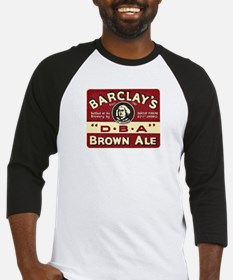 Vintage Barclay's DBA Beer Label Baseball Jersey