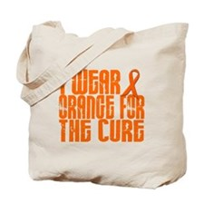 I Wear Orange For The Cure 16 Tote Bag