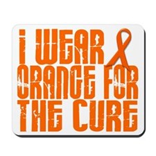 I Wear Orange For The Cure 16 Mousepad