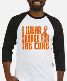 I Wear Orange For The Cure 16 Baseball Jersey