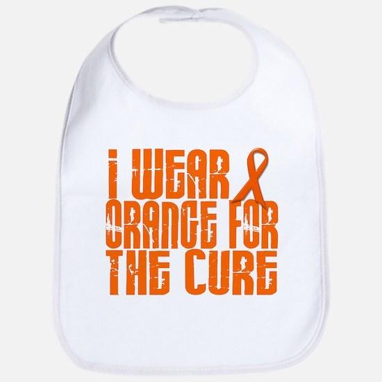 I Wear Orange For The Cure 16 Bib