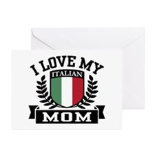 I Love My Italian Mom Greeting Cards (Pk of 10)