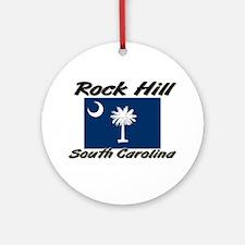 Rock Hill South Carolina Ornament (Round)