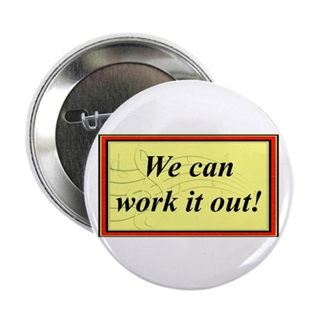 """""""Work It Out"""" 2.25"""" Button (100 pack)"""