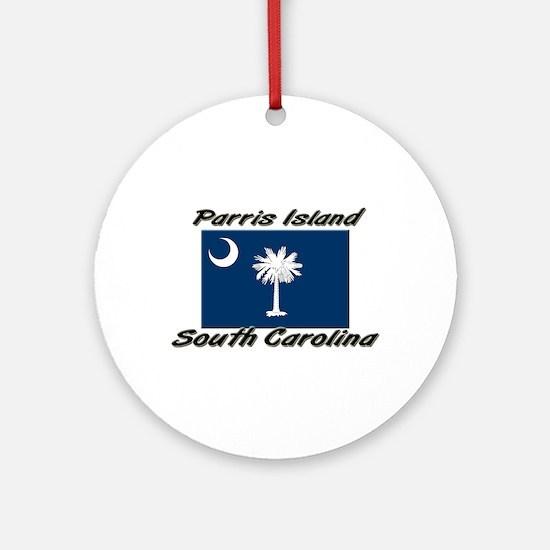 Parris Island South Carolina Ornament (Round)