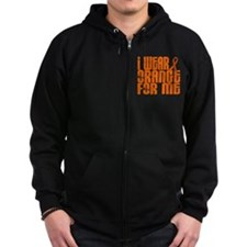 I Wear Orange For Me 16 Zip Hoodie