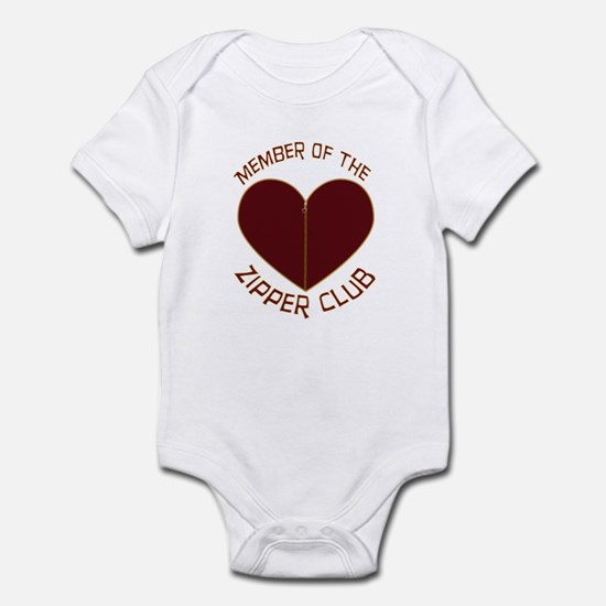 Zipper Club Infant Bodysuit