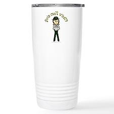 Light Green Sheriff Travel Mug