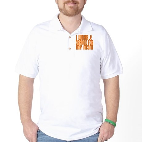 I Wear Orange For My Mom 16 Golf Shirt