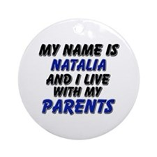 my name is natalia and I live with my parents Orna