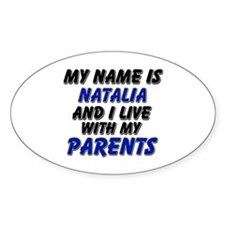 my name is natalia and I live with my parents Stic