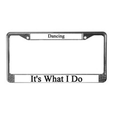 Dancer License Plate Frame