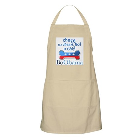 Chase the dream, not a car! BBQ Apron