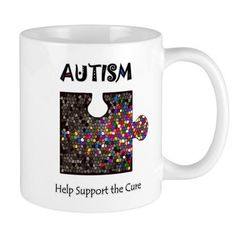 """""""Atuism Help Support the Cure Mug"""