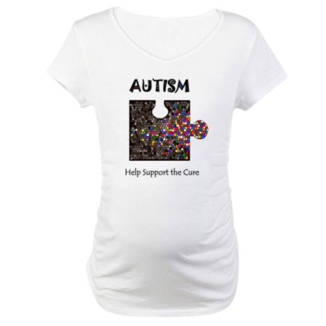 """Atuism Help Support the Cure Maternity T-Shirt"