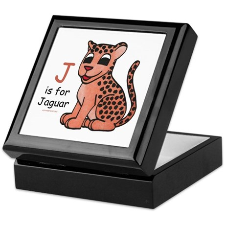 J is for Jaguar Keepsake Box