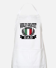World's Greatest Italian Dad BBQ Apron
