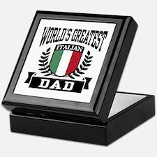 World's Greatest Italian Dad Keepsake Box