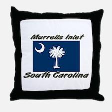 Murrells Inlet South Carolina Throw Pillow