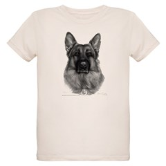 Rikko, German Shepherd, Polic T-Shirt