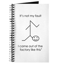 It's Not My Fault Journal