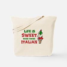 Life's Sweet Italian Tote Bag
