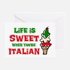 Life's Sweet Italian Greeting Card