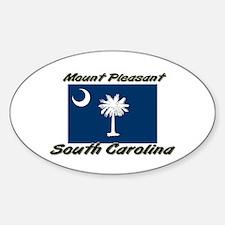 Mount Pleasant South Carolina Oval Decal