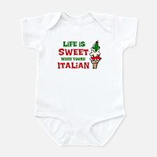 Life's Sweet Italian Infant Bodysuit