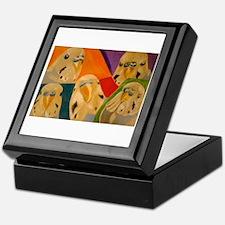 Budgerigar Parakeet Keepsake Box
