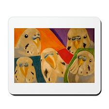 Budgerigar Parakeet Mousepad