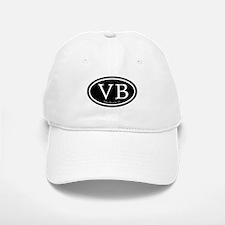 VB Vero Beach Oval Baseball Baseball Cap