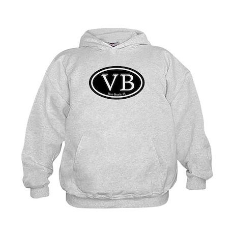 VB Vero Beach Oval Kids Hoodie