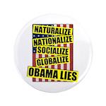 """Obamalize 3.5"""" Button (100 pack)"""