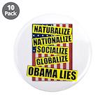 """Obamalize 3.5"""" Button (10 pack)"""