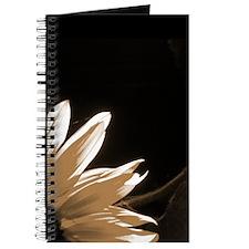 Sepia Toned C Sunflower Journal