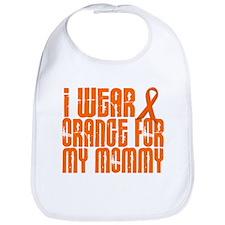 I Wear Orange For My Mommy 16 Bib
