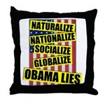 Obamalize Throw Pillow