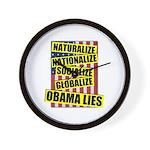 Obamalize Wall Clock