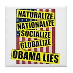 Obamalize Tile Coaster