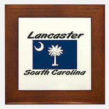 Lancaster South Carolina Framed Tile