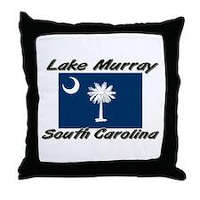 Lake Murray South Carolina Throw Pillow