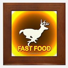 Fast Food... Framed Tile
