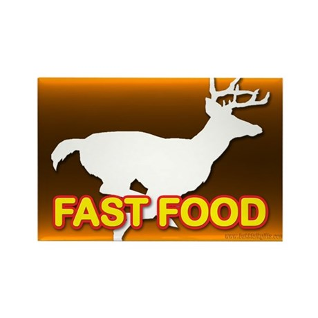 Fast Food... Rectangle Magnet (100 pack)