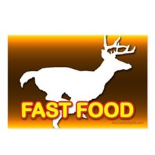 Fast Food... Postcards (Package of 8)