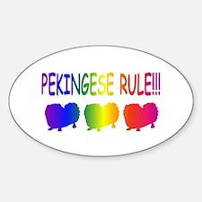 Pekingese Decal