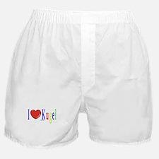 I Love Kugel Funny Jewish Boxer Shorts