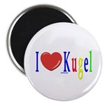 I Love Kugel Funny Jewish Magnet