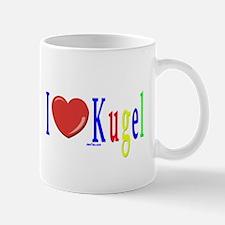 I Love Kugel Funny Jewish Mug